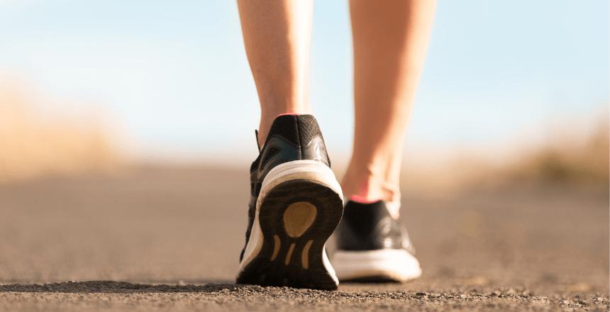 отслабване в краката